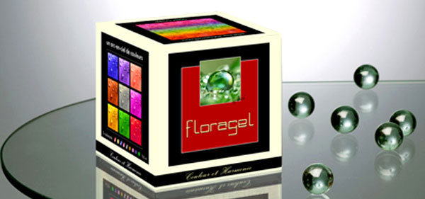 Kit gel hydro rétenteur Floragel avec colorants