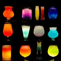 cristaux rtenteurs deau floragel vases dcoratifs - Colorant Eau Vase